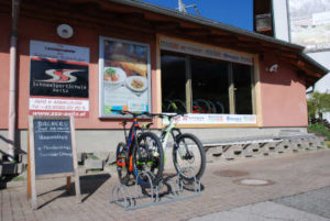 Bachers Bikeverleih Bar - Aussenansicht