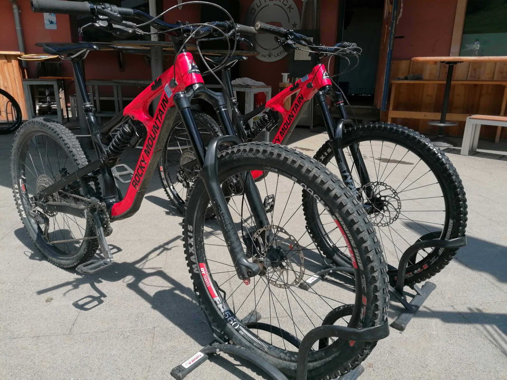 Abverkauf Rocky Mountain Bikes